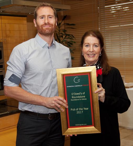 Photo: Paul Sherwood - Georgina Campbell Guide Awards 2017, held at Bord Bia